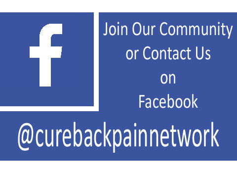 cure back pain network facebook